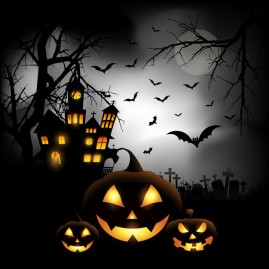 spooky-halloween-background-with-pumpkins-in-a-cemetery_1048-3055